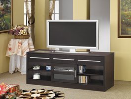 Coaster Furniture 700650 - Connect It TV Console (Cappuccino)