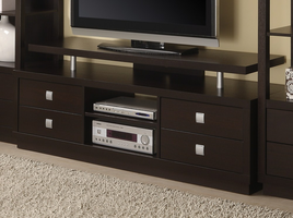 Coaster Furniture - 700696 - TV CONSOLE (CAPPUCCINO)