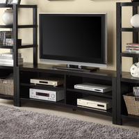 Coaster Furniture - 700697 - TV CONSOLE (CAPPUCCINO)