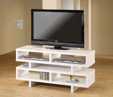 Coaster Furniture - 700721 - TV CONSOLE (WHITE)