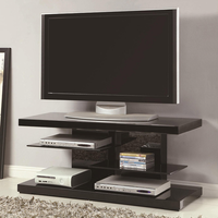Coaster Furniture 700840 - TV Console (High Gloss Black)