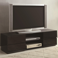 Coaster Furniture 700841 - TV Console (High Gloss Black)