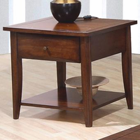 Coaster Furniture 700957 - End Table (Walnut)