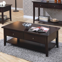 Coaster Furniture 700968 - Coffee Table (Cappuccino)