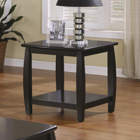 Coaster Furniture 701077 - End Table (Cappuccino)