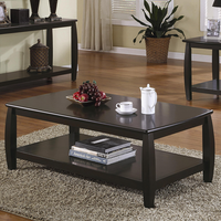 Coaster Furniture 701078 - Coffee Table (Cappuccino)