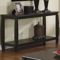 Coaster Furniture 701079 - Sofa Table (Cappuccino)