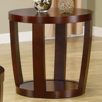 Coaster Furniture 701317 - End Table (Cherry)