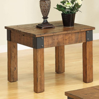 Coaster Furniture 701457 - End Table (Rustic Oak)