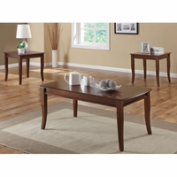 Coaster Furniture 701603 - 3pc Occasional Set (Cherry)