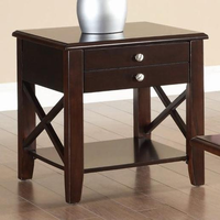 Coaster Furniture 701857 - End Table (Cherry)