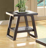 Coaster Furniture - 701867 - END TABLE (CAPPUCCINO)