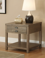 Coaster Furniture 701957 - End Table (Driftwood)