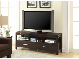 Coaster Furniture - 701971 - TV CONSOLE (DARK BROWN)