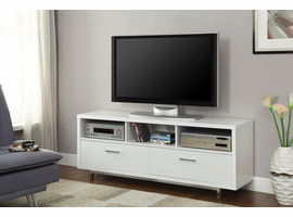 Coaster Furniture - 701972 - TV CONSOLE (WHITE)