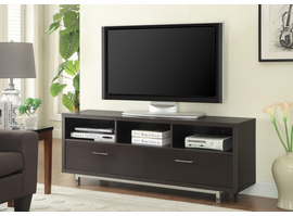 Coaster Furniture - 701973 - TV CONSOLE (CAPPUCCINO)
