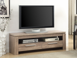 Coaster Furniture - 701975 - TV CONSOLE (WEATHERED BROWN)