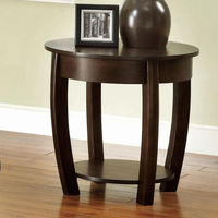 Coaster Furniture 701977 - End Table (Brown Cherry)