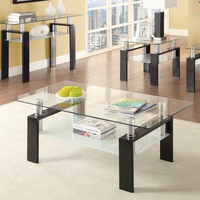 Coaster Furniture - 702288 - COFFEE TABLE (BLACK)