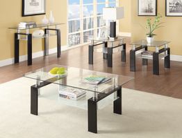 Coaster Furniture - 702289 - SOFA TABLE (BLACK)
