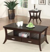 Coaster Furniture - 702507 - END TABLE (ESPRESSO)
