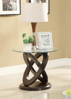 Coaster Furniture - 702787 - END TABLE (CAPPUCCINO)