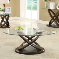 Coaster Furniture - 702788 - COFFEE TABLE (CAPPUCCINO)