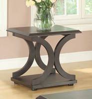Coaster Furniture - 703147 - END TABLE (CAPPUCCINO)