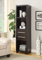 Coaster Furniture - 703302 - MEDIA TOWER (CAPPUCCINO)