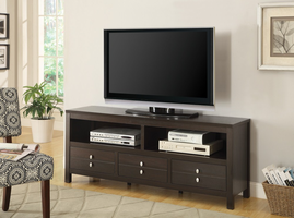 Coaster Furniture - 703311 - TV STAND (CAPPUCCINO)