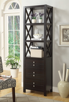 Coaster Furniture - 703312 - MEDIA TOWER (CAPPUCCINO)