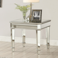 Coaster Furniture - 703937 - END TABLE (SILVER)