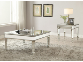 Coaster Furniture - 703938 - COFFEE TABLE (SILVER)