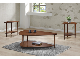 Coaster Furniture - 704058 - COFFEE TABLE (WALNUT)