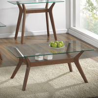 Coaster Furniture - 704168 - COFFEE TABLE (NUTMEG)