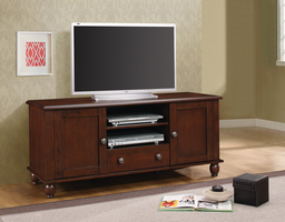 Coaster Furniture - 704411 - TV CONSOLE (MERLOT)