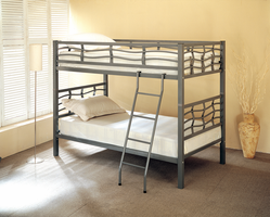 Coaster Furniture 7395 - Twin/Twin Bunk Bed (Metal)