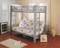 Coaster Furniture 7399 - Twin/Futon Bunk Bed (Metal)