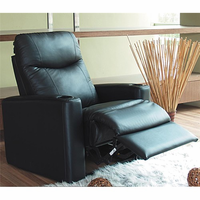 Coaster Furniture 7537R - Director's Recliner (Black)