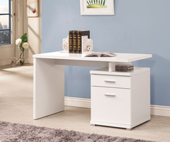 Coaster Furniture - 800110 - DESK (WHITE)