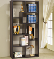 Coaster Furniture 800264 - Bookshelf (Cappuccino)