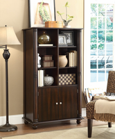 Coaster Furniture - 800475 - BOOKCASE (CAPPUCCINO)