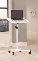 Coaster Furniture - 800484 - LAPTOP STAND (WHITE)