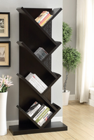 Coaster Furniture - 800540 - BOOKCASE (CAPPUCCINO)