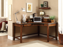 Coaster Furniture - 800594 - DESK (WARM AMBER)