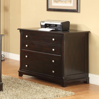 Coaster Furniture 801014 - Garson File Cabinet (Cappuccino)