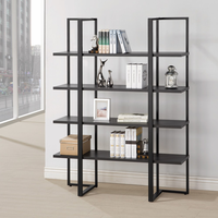 Coaster Furniture - 801035 - BOOKCASE (DARK CAPPUCCINO)