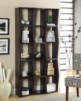 Coaster Furniture - 801179 - BOOKCASE (CAPPUCCINO)