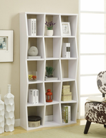 Coaster Furniture - 801180 - BOOKCASE (WHITE)
