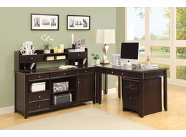 Coaster Furniture - 801191 - DESK (DARK BROWN)